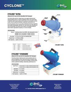 Cyclone Ultra Sales Sheet