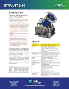 Dyna-Jet L-30 Sales Sheet