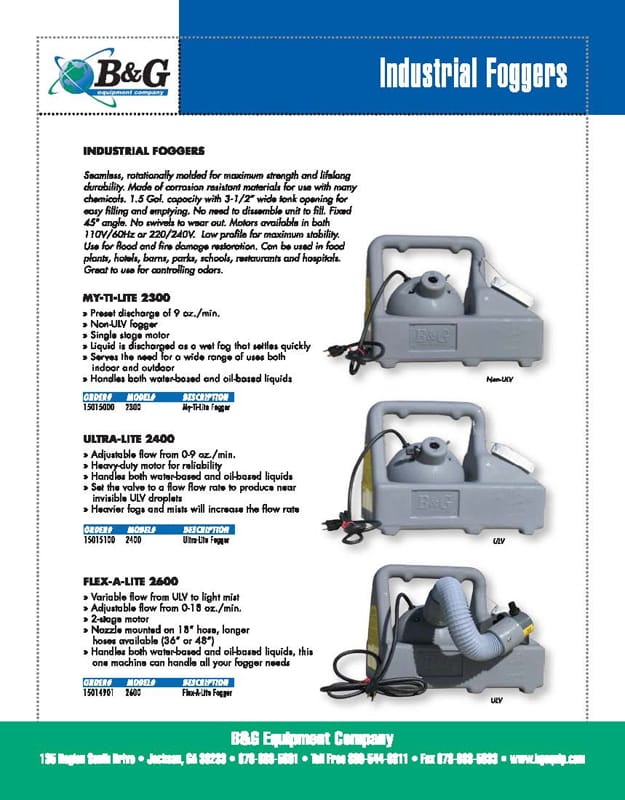 Flex-A-Lite 2600 Sales Sheet