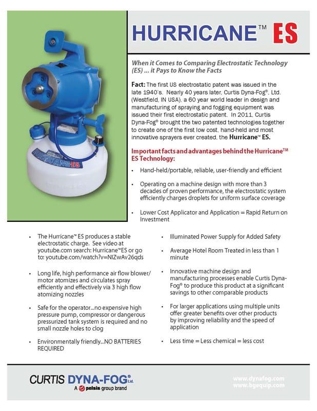Hurricane ES Fact Sheet