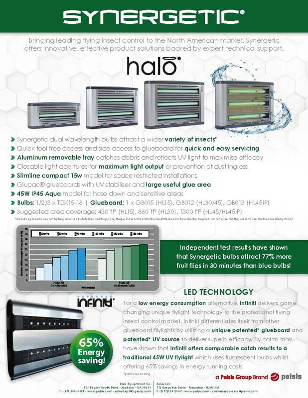 Synergetic Halo Range and Infiniti Flyer