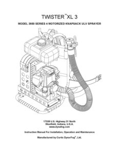 Twister XL3 Operators Manual