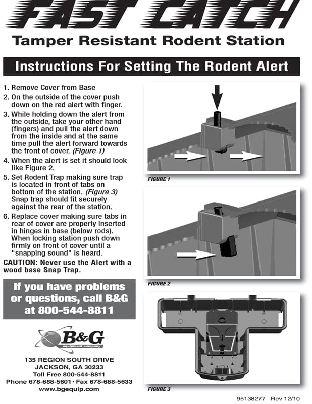 Fast Catch Rodent Station User Manual
