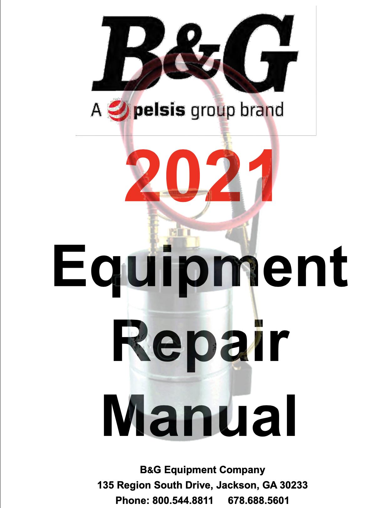 Repair Manual 2021