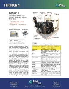 Typhoon 1 Sales Sheet
